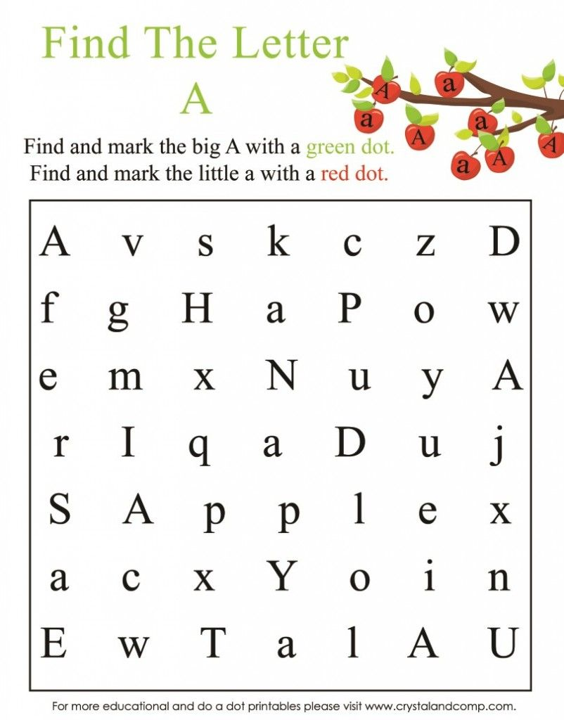 A Is For Apple Preschool Worksheets Activities For Kids