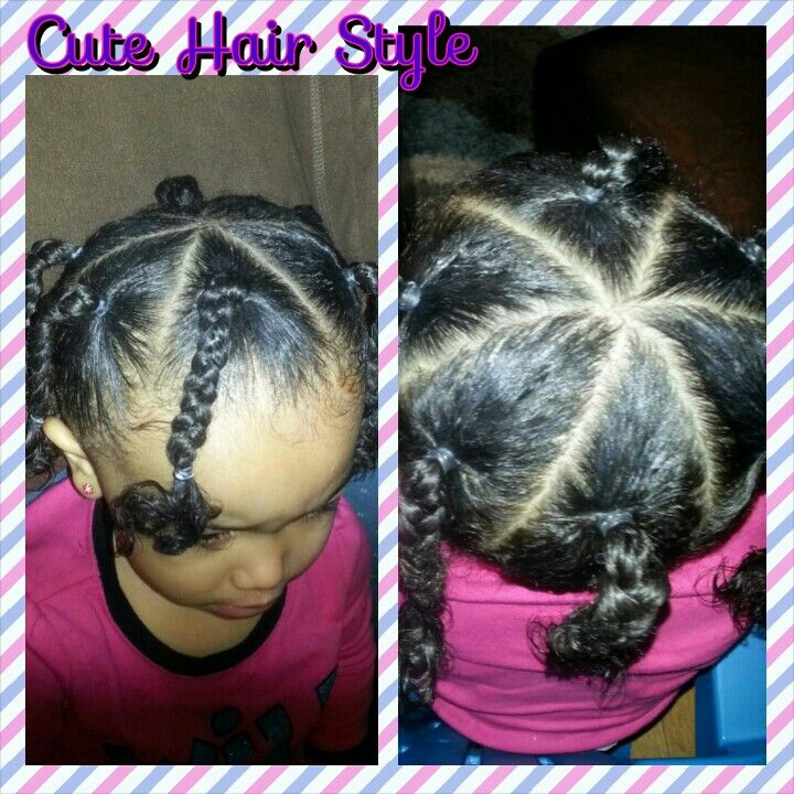 Pin By Janelle Valentine On Avayahs Hair Styles