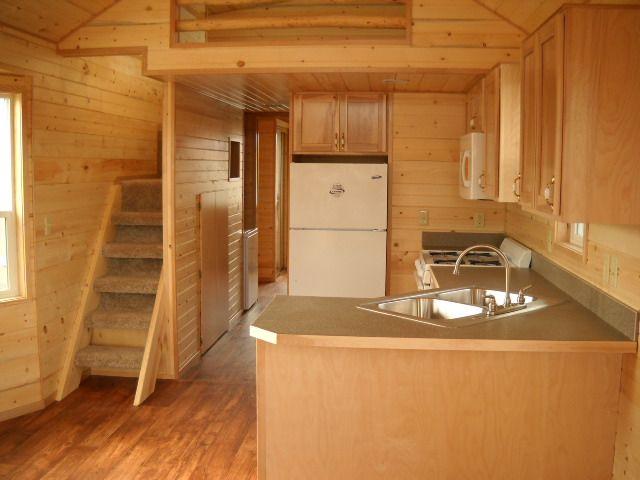 Trophy Park Model Floor Plans: Rich's Portable Cabins - Stand Up Loft