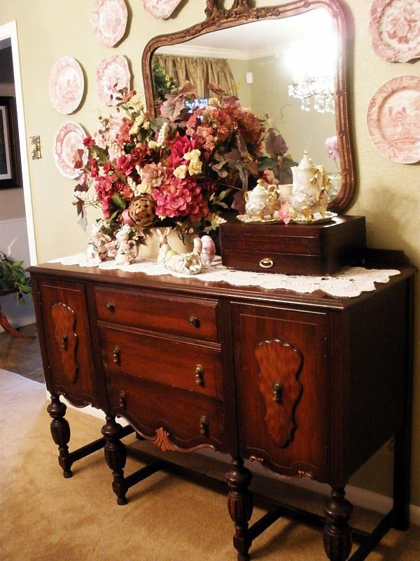 Easter Buffet Victorian Home Decor Beautiful Dining
