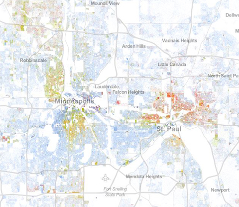 The Racial Dot Map Weldon Cooper Center For Public Service In 2020 Map Racial Dots