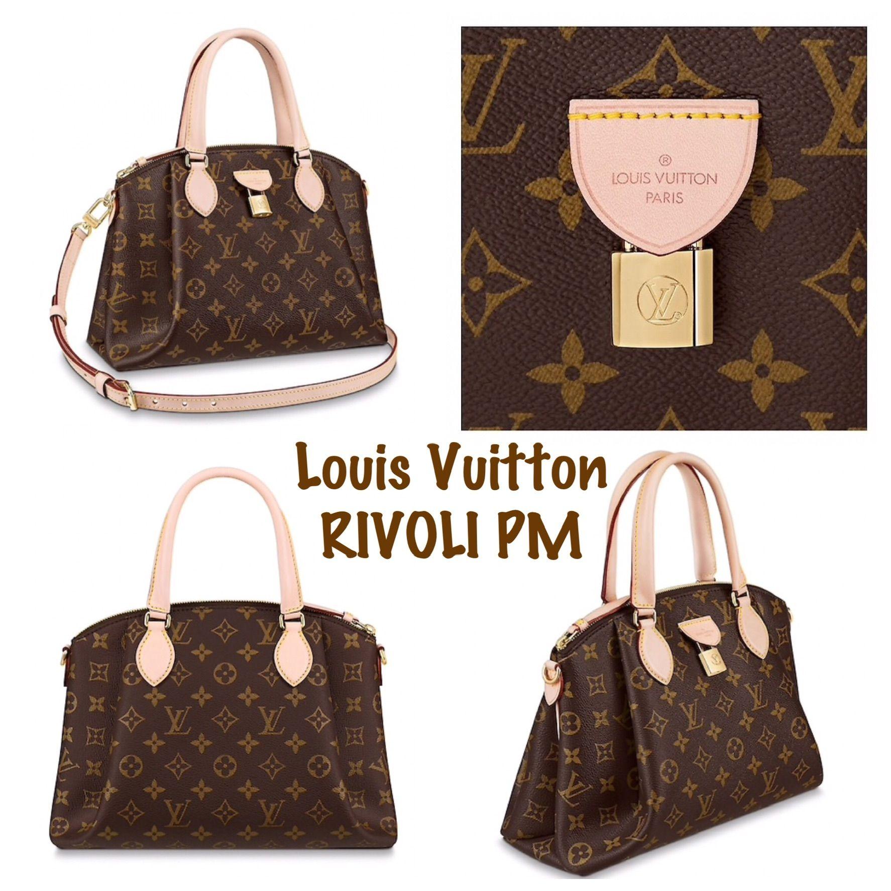 New Louis Vuitton Rivoli Pm Bag Handbags Purses Carry