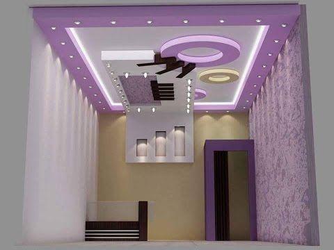 ديكورات جبس بورد 2017 شاشات Lcd أفكار جديدة لديكورات جبس للتلفزيون تحو ل جدار منزلك العادي إلى لوحة Interior Ceiling Design False Ceiling Design Ceiling Design