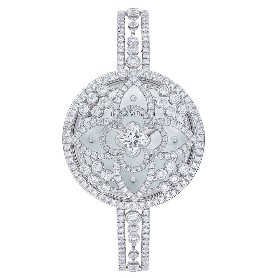 Louis vuitton les ardentes watches louis vuitton editor and diamond