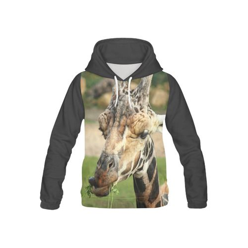 sweet giraffe by JamColors Kid's All Over Print Hoodie (Model H13)