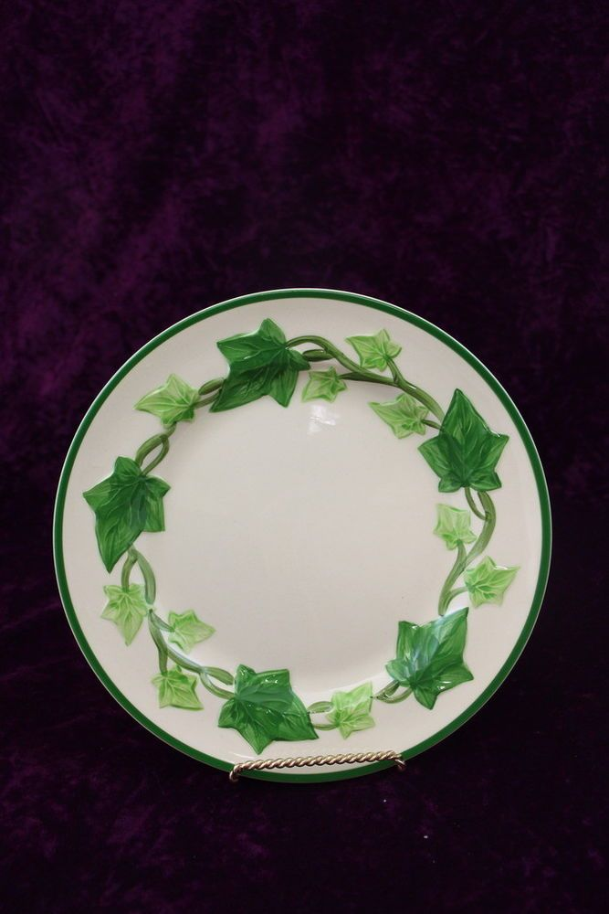 Franciscan Ivy 1963-71 Brown Interpace TV St& 8.5  Lunch/Salad Plate MULTIPLES | Salad plates Dinnerware and Lunches & Franciscan Ivy 1963-71 Brown Interpace TV Stamp 8.5