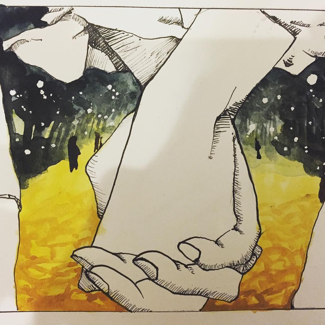 연결고리 #일러스트 #anime #illustration #watercolor #인물화 #watercolor #watercolour #drawing #design #cartoon #포트폴리오 #portfolio #korean #dailydrawing #TalentedPeopleInc by minkyu_88
