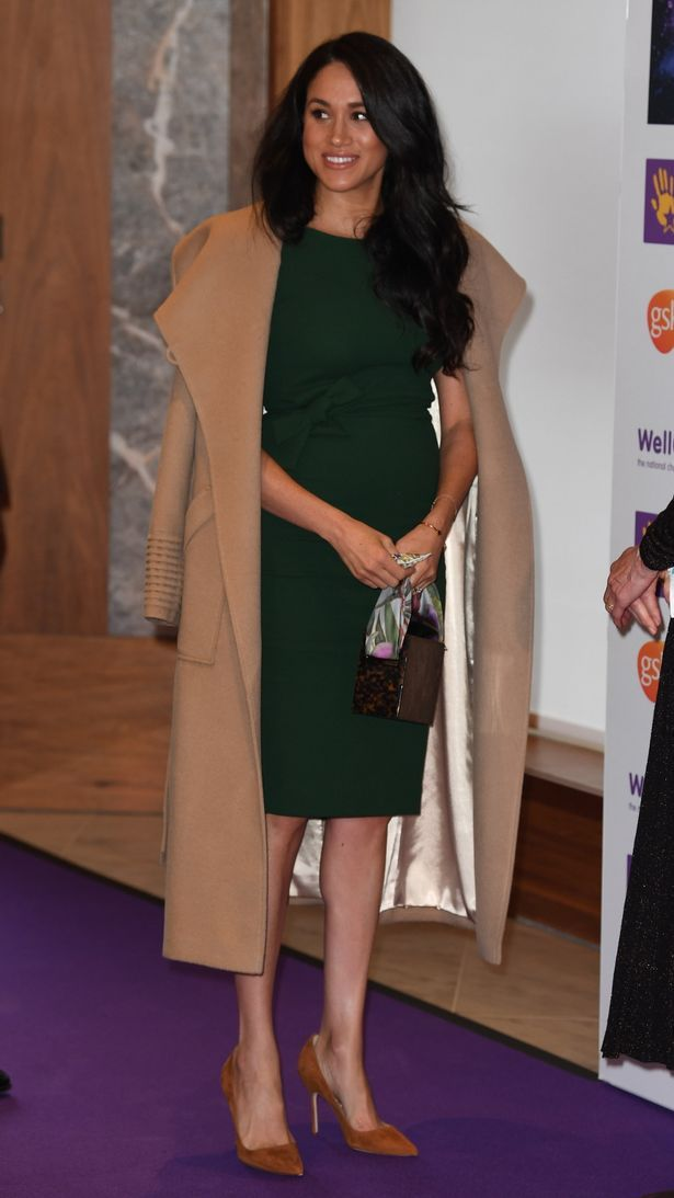 Meghan Markle recycles engagement dress at WellChild Awards with Prince Harry