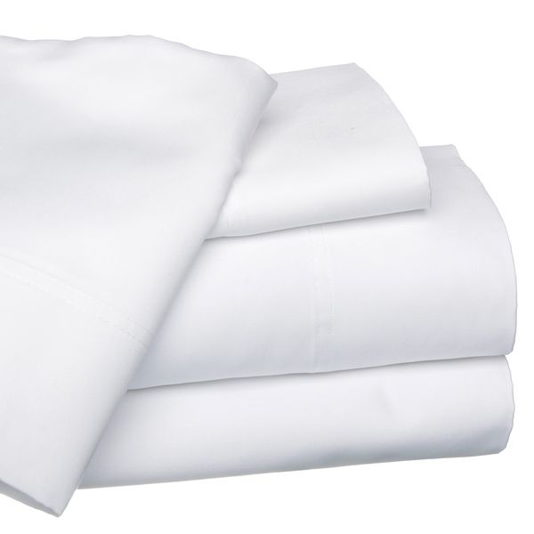 Egyptian Cotton 1000 Thread Count Deep Pocket Solid Luxury Sateen Sheet Set or Pillowcase Separates - Overstock™ Shopping - Great Deals on Sheets