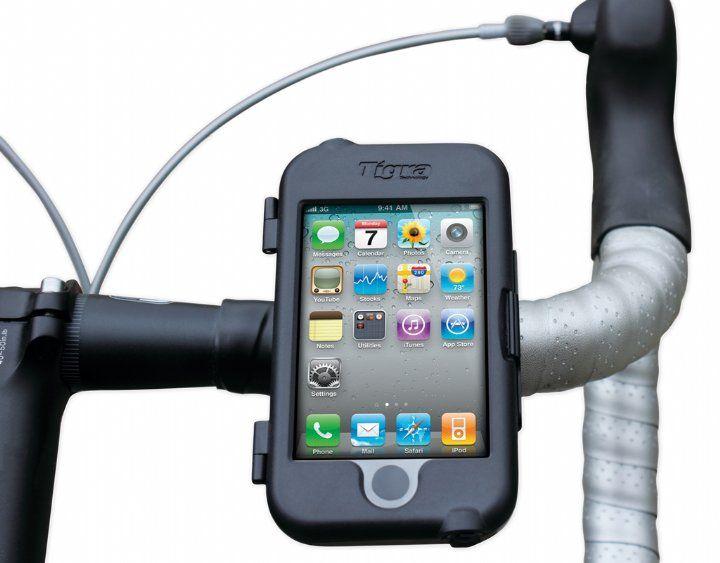 Soporte para bici TIGRA TECHNOLOGY BikeMount iPod/iPhone