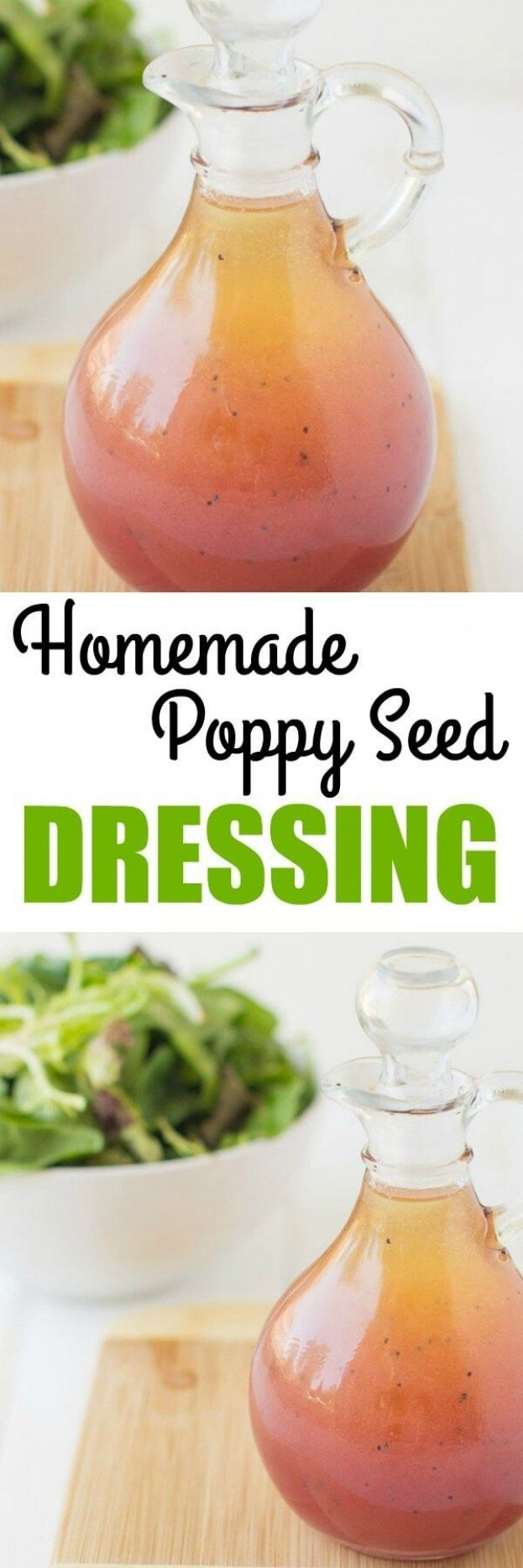 A deliciously sweet Poppy Seed Dressing made with 6 pantry staples! Perfect for fruit and vegetable salads this makes any side dish taste like dessert! deliciously sweet Poppy Seed Dressing made with 6 pantry staples! Perfect for fruit and vegetable salads this makes any side dish taste like dessert!