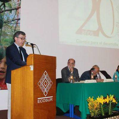 El Colegio de la Frontera Sur celebra 40 años de labores