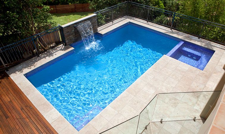 Cinder Block Inground Pools | Crystal Pools. Inground ...