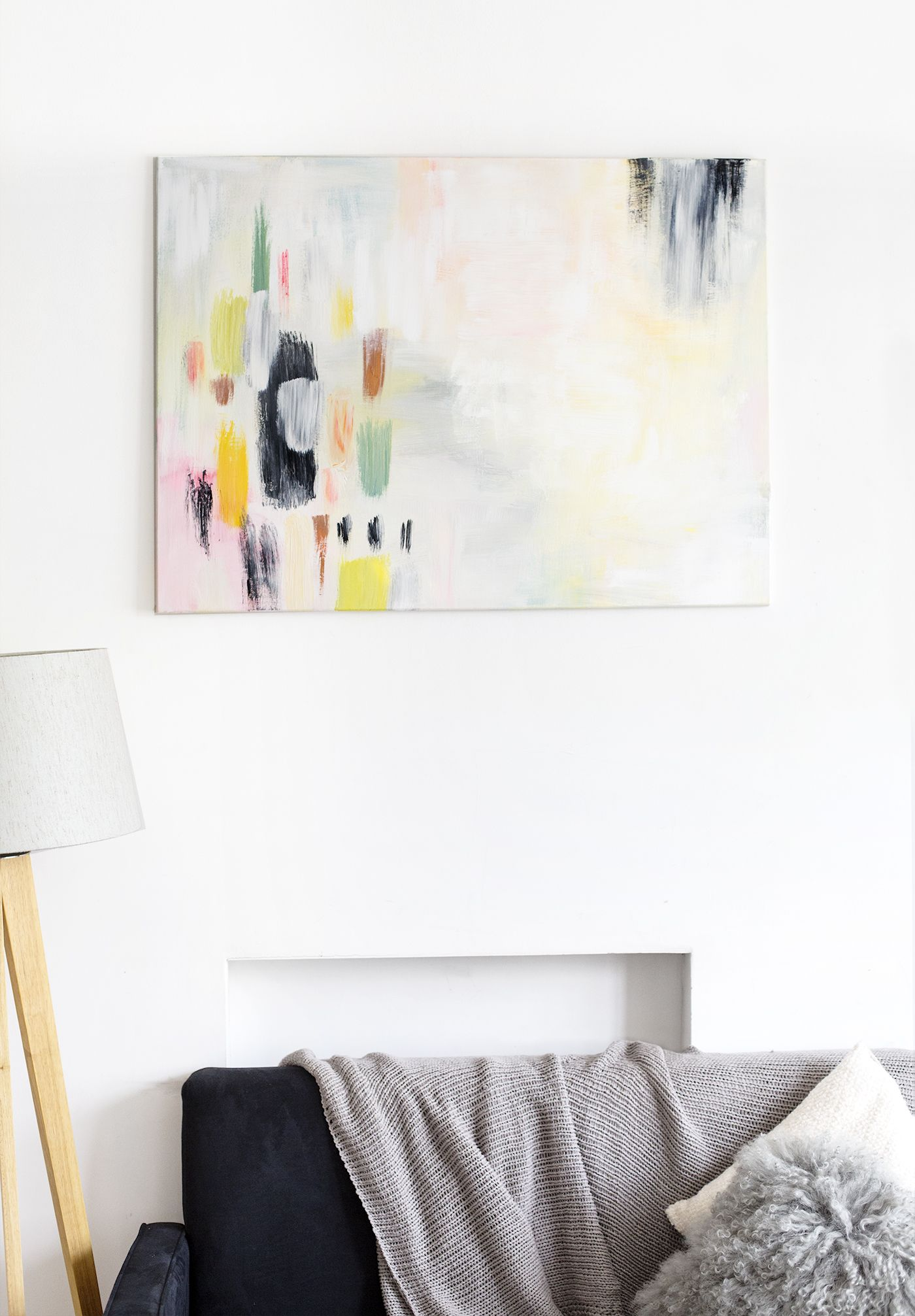 how to incorporate art into your home | the affordable art fair ...