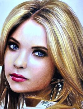 Ashley Benson by Heather Rooney | My Favorite Artists ...