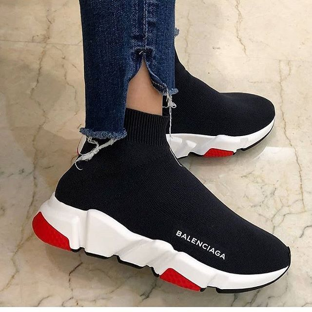 468b469ee7 Follow @prettygirl for more pretty girl action #prettygirlgang ✨ | shoes |  Shoes, Sock shoes és Balenciaga shoes