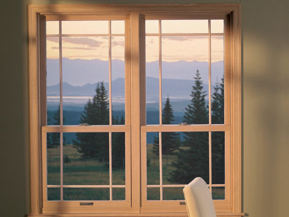Our Double Hung Windows Feature A Traditional Look With A Wide Range Of Color And Design Options Both The Lower Double Hung Windows Window Remodel Double Hung