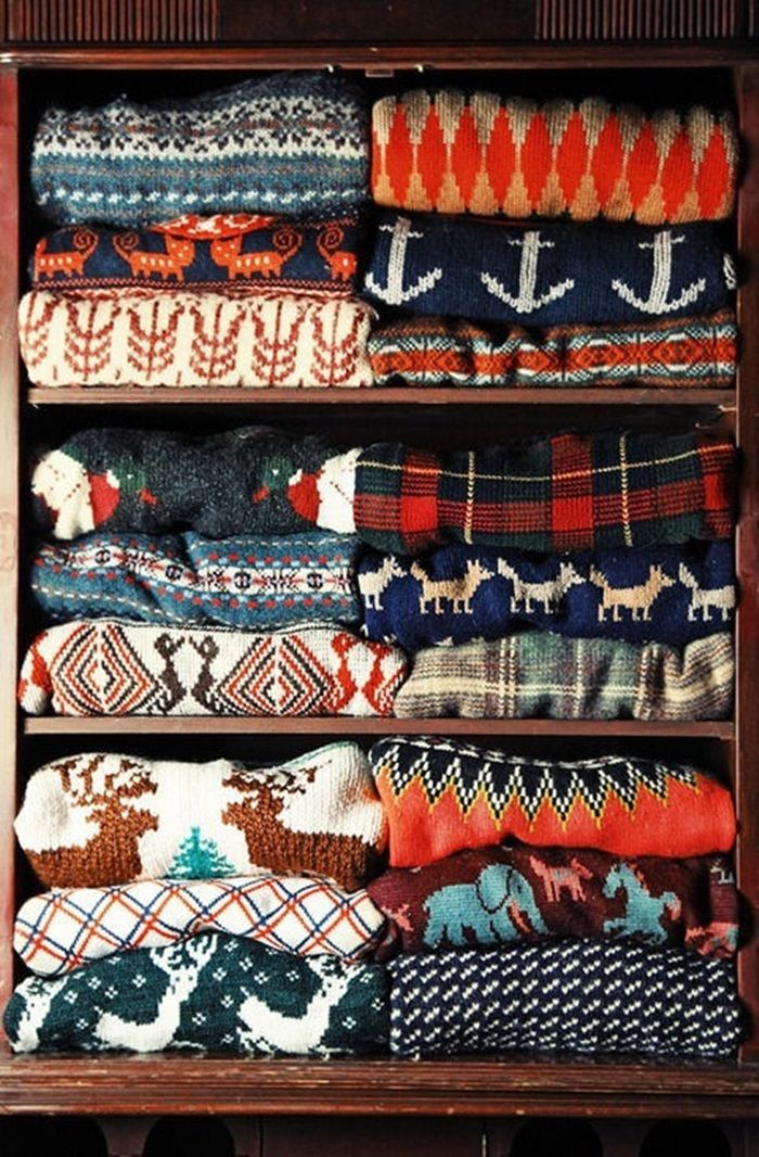 Even more sweaters.