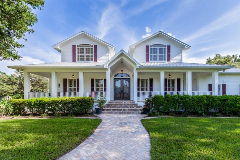 Completely custom southern style farm house 5 bedroom 3