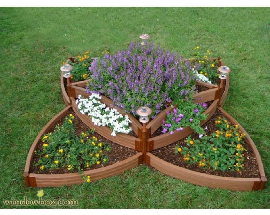 multi tiered planter boxes | Multi-Level Raised Planter Bed ...