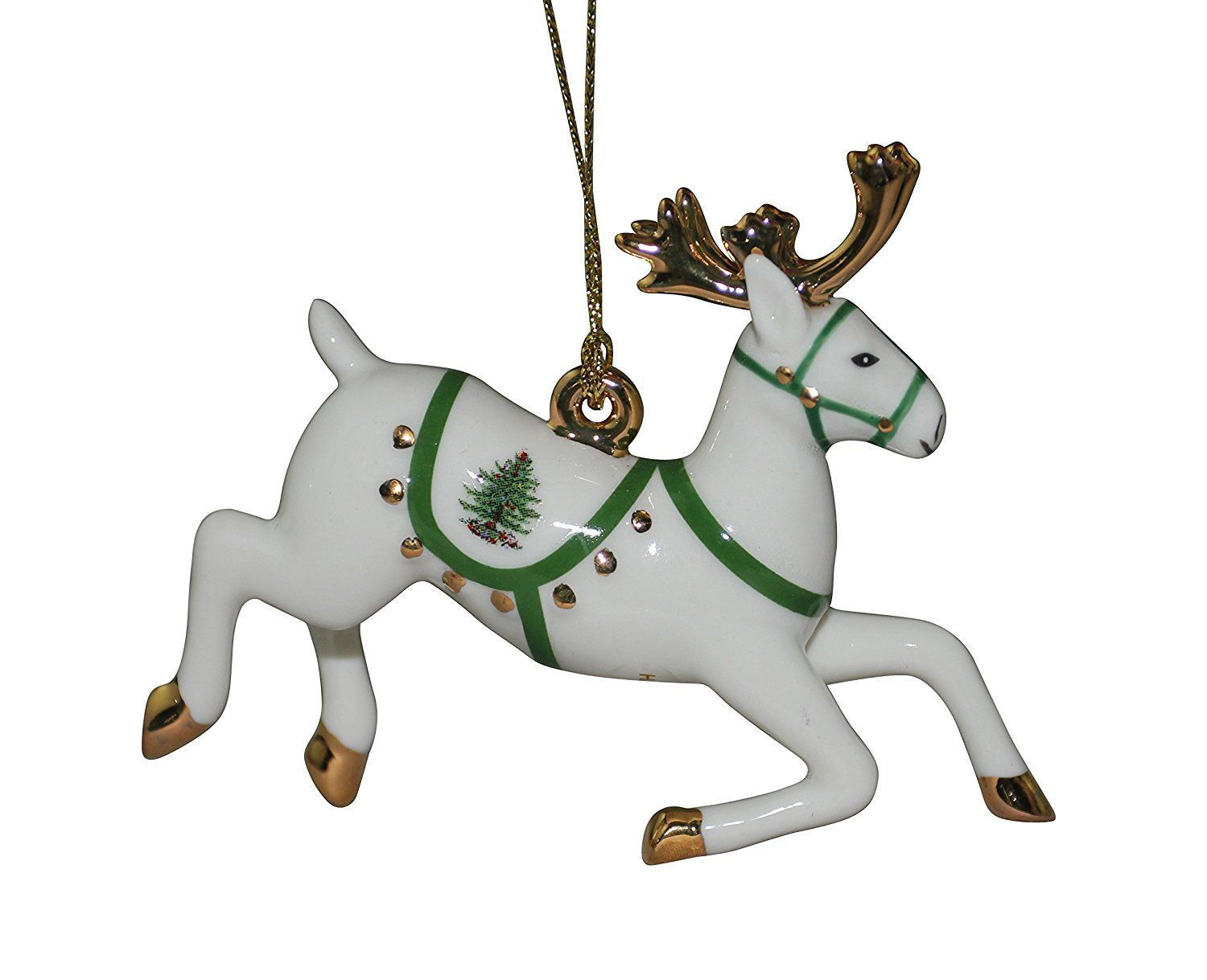 Spode Christmas Tree Ornament, Reindeer > SPECIAL OFFER AHEAD! : Christmas Ornaments