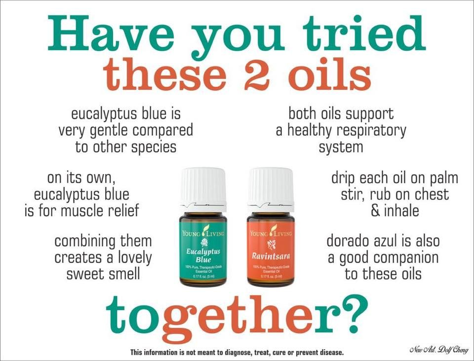 Two great oils to help support optimal respiratory health. Time to take a deep breath! http://www.thisworks.biz