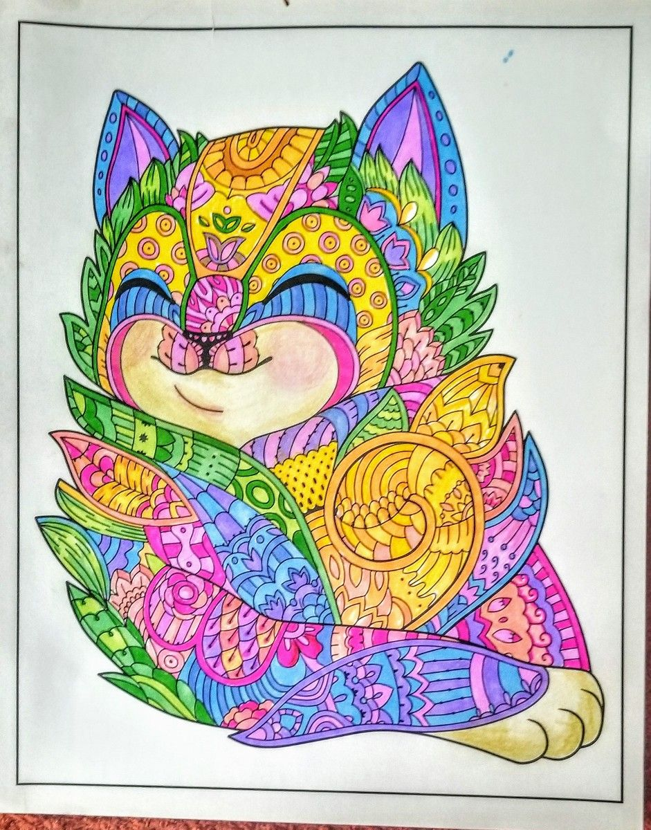 Joan bosotina colorest living color coloring book coloring mine
