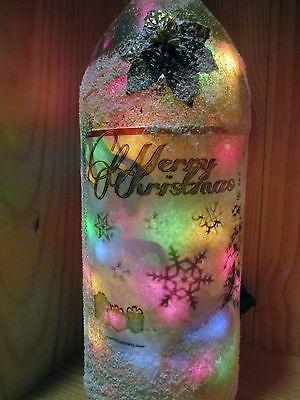 Decorative Light Up Wine Bottle For Christmas Holidays Light Up Wine Bottles Ebay