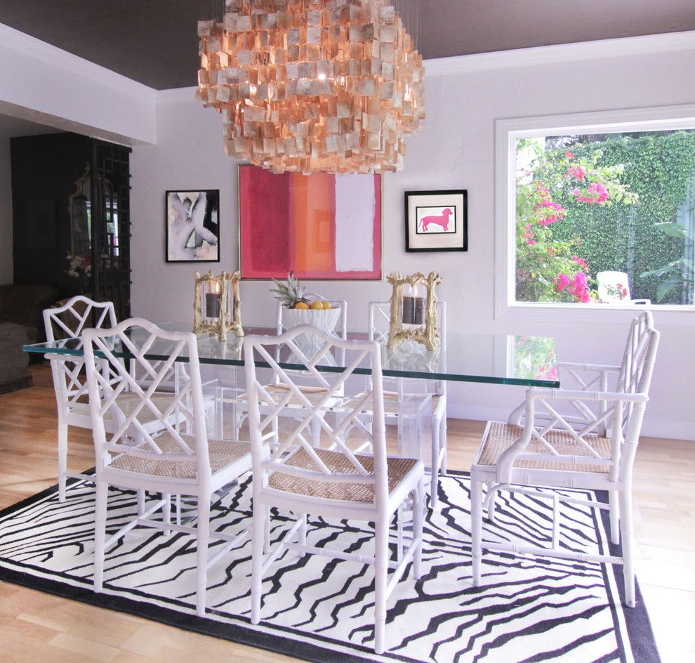 Lucite Dining Table Room