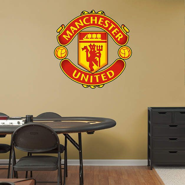Manchester United Crest Fathead Wall Decal Part 14