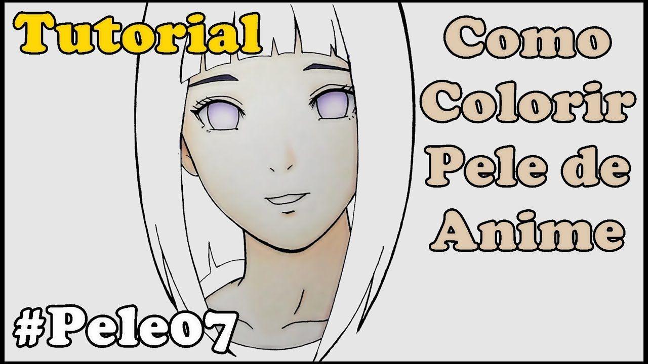 Como Colorir Pele de Anime e Mangá - How to Color Skin 7