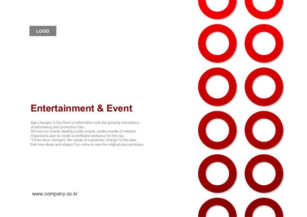EventsEntertainmentPlanningProposalPptTempletCompanyProfile
