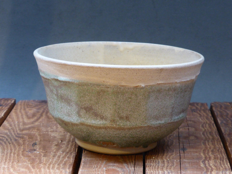 Ceramic Bowl For Cereal Soup Cream Soft Green Glazed Pottery Pottery Ceramic Bowls Handmade Bowl