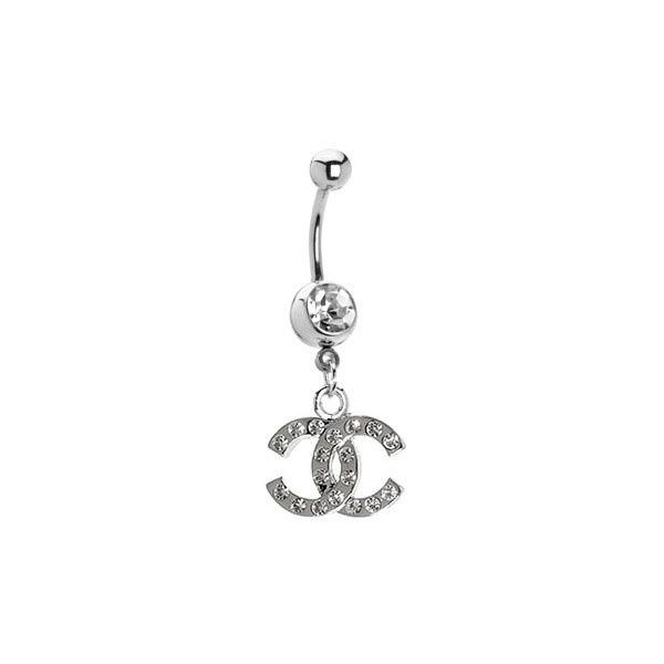 Chanel Belly Button Ring I Would So Wear This Belly Button Rings