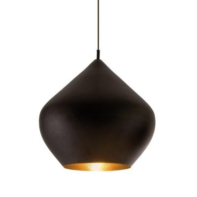 Beat Light Stout Taklampa Svart Tom Dixon