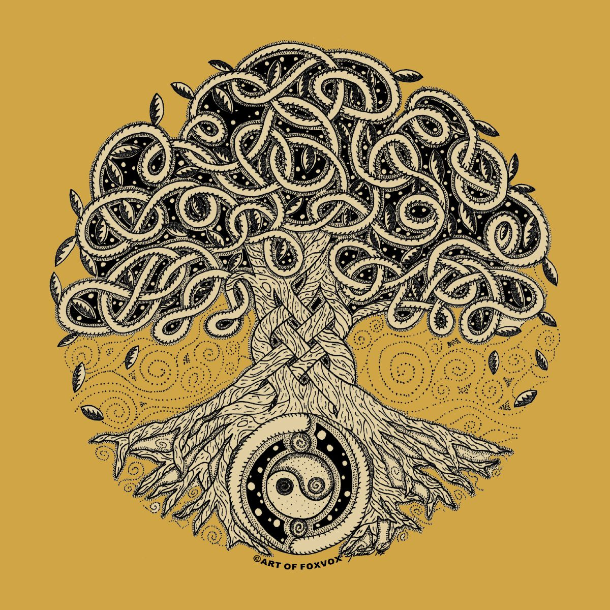 Tree of life ornament - Tree Of Life I Love This As A Tattoo Idea Interdependence Qi Yin