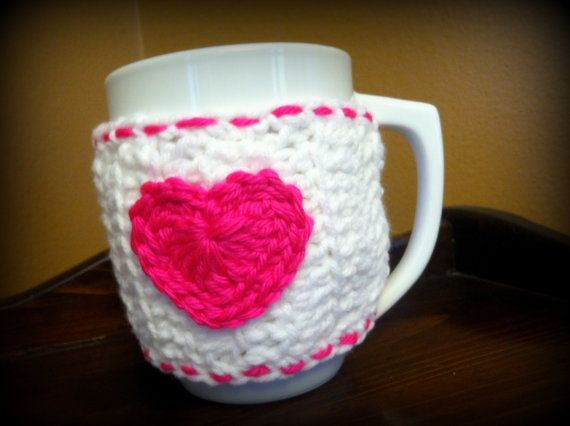Lighthearted Coffee Cozy by UnspokenAdoption on Etsy