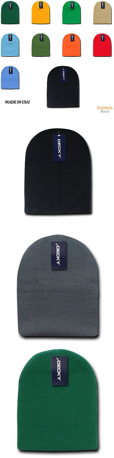 8e97ff61f5c Mens Accessories 45053  1 Dozen Made In Usa America Decky Beanies Gi Short Watch  Caps Hats Wholesale Lot -  BUY IT NOW ONLY   49.99 on eBay!