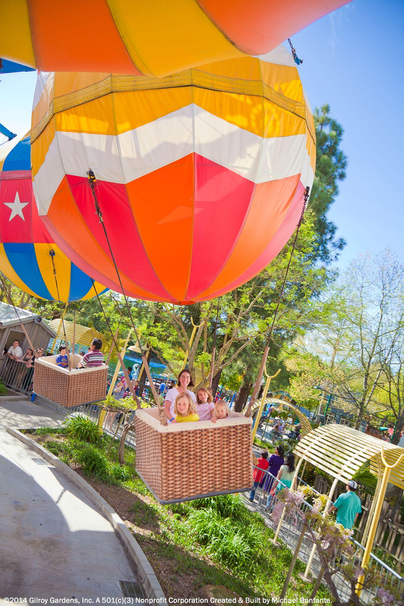 Gilroy Gardens Family Theme Park Hecker Pass Highway Gilroy Ca