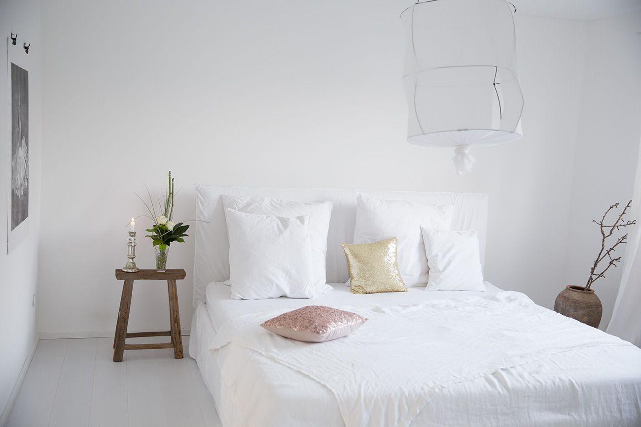 Sympathisch Schlafzimmer Bett Weiß Galerie Von Gervasoni Weiß - Weiß - Love Warriors