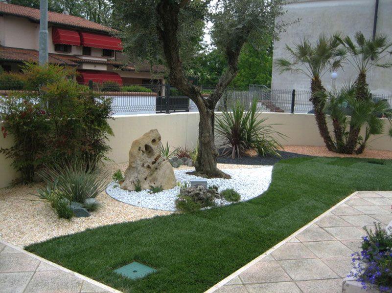 risultati immagini per aiuola forma | zzzz giardino idee ... - Piccolo Giardino Con Ghiaia