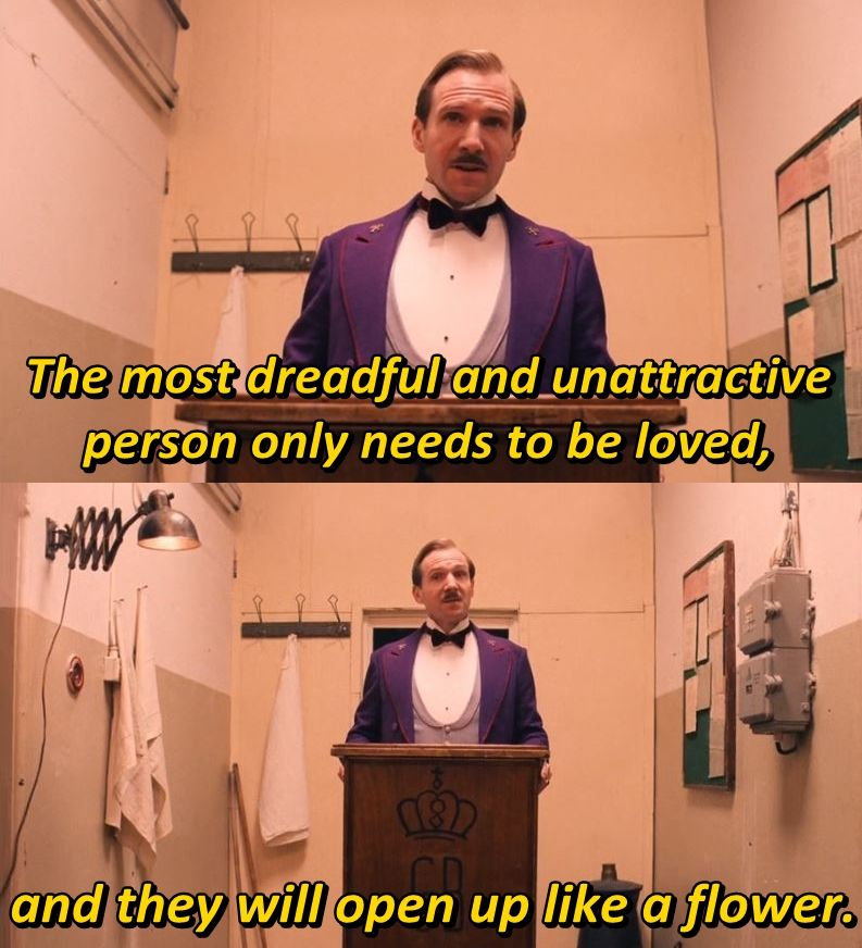 Grand Budapest Hotel Quotes Interesting The Grand Budapest Hotel 2014  The Best Movie Lines  Pinterest