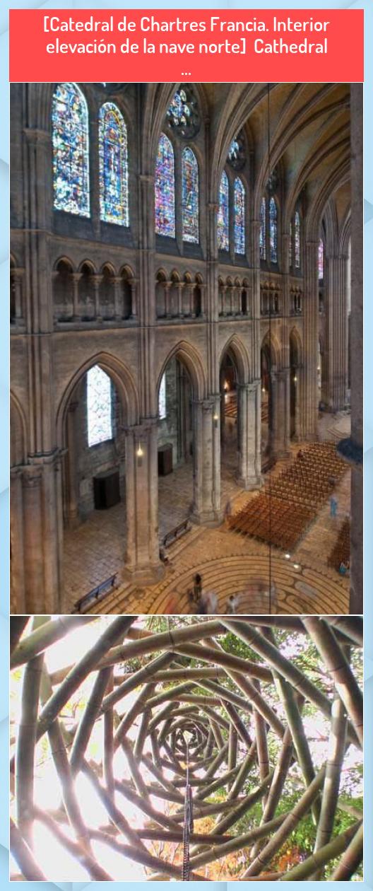 Catedral De Chartres Francia Interior Elevación De La Nave Norte Cathedral Sacred Architecture Architecture Blog Chartres