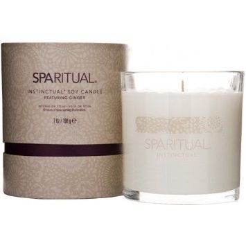 SpaRitual Ginger Soy Candle From Amazon.com (via WellAndGoodNYC.com)