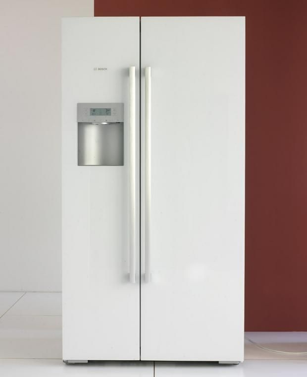 Kühlschrank  - küche mit side by side kühlschrank