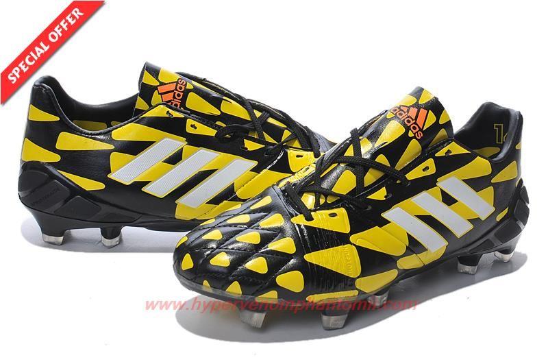 new products 39825 699ba ... canada mens adidas nitrocharge 1.0 black yellow white fg e45e4 c92bb