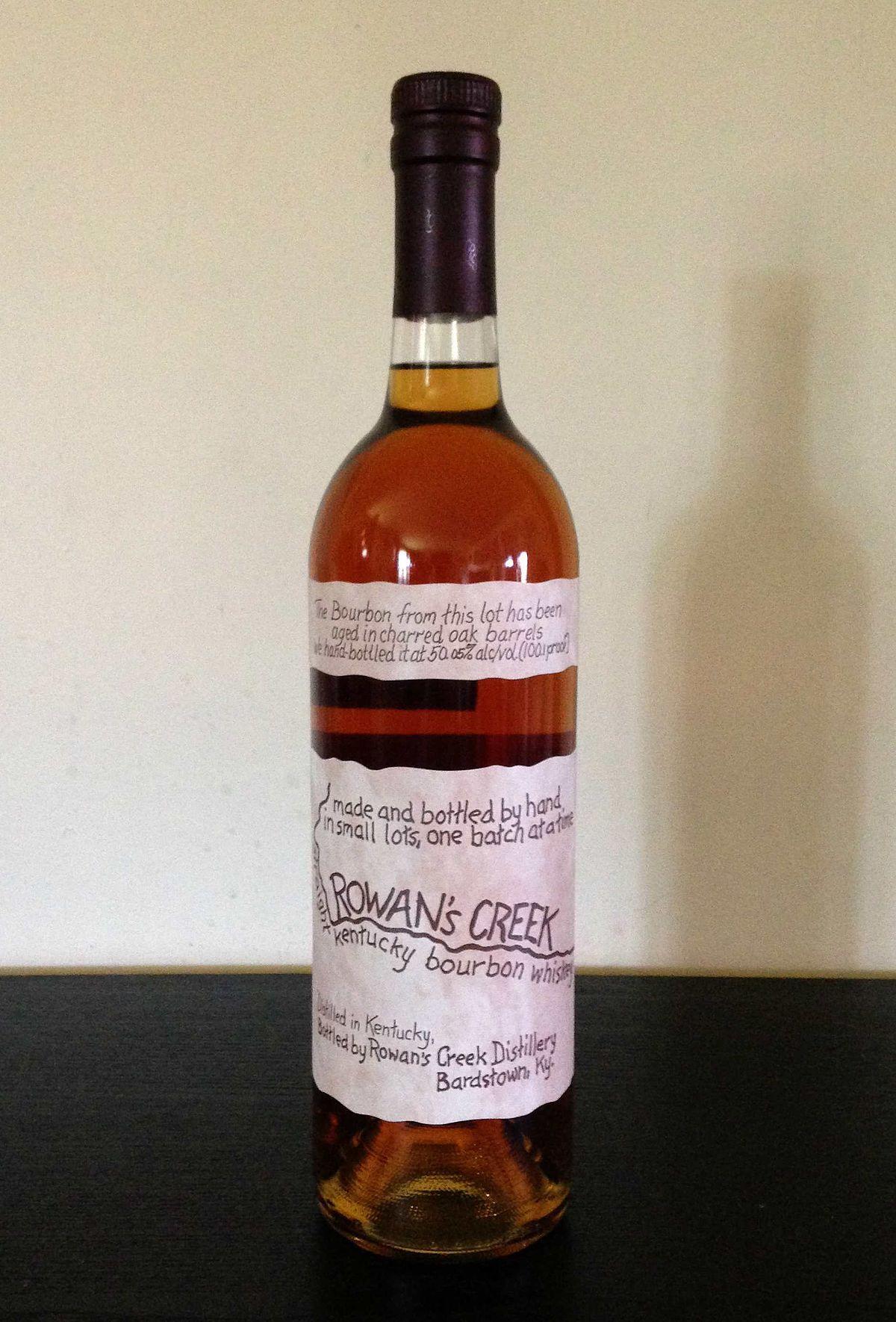Rowan's Creek Rowan, Wine bottle, Rosé wine bottle