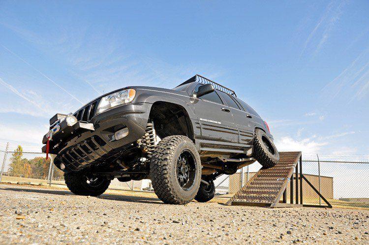 4in Jeep Long Arm Suspension Lift Kit 99 04 Grand Cherokee Wj Lift Kits Jeep Jeep Wj
