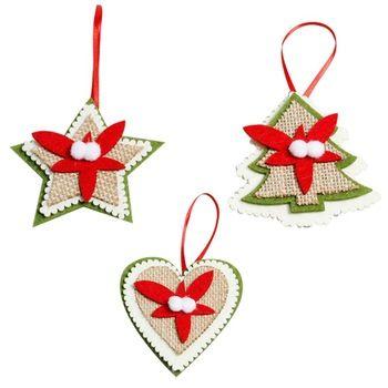 adornos navideos sencillos de hacer Christmas Pinterest