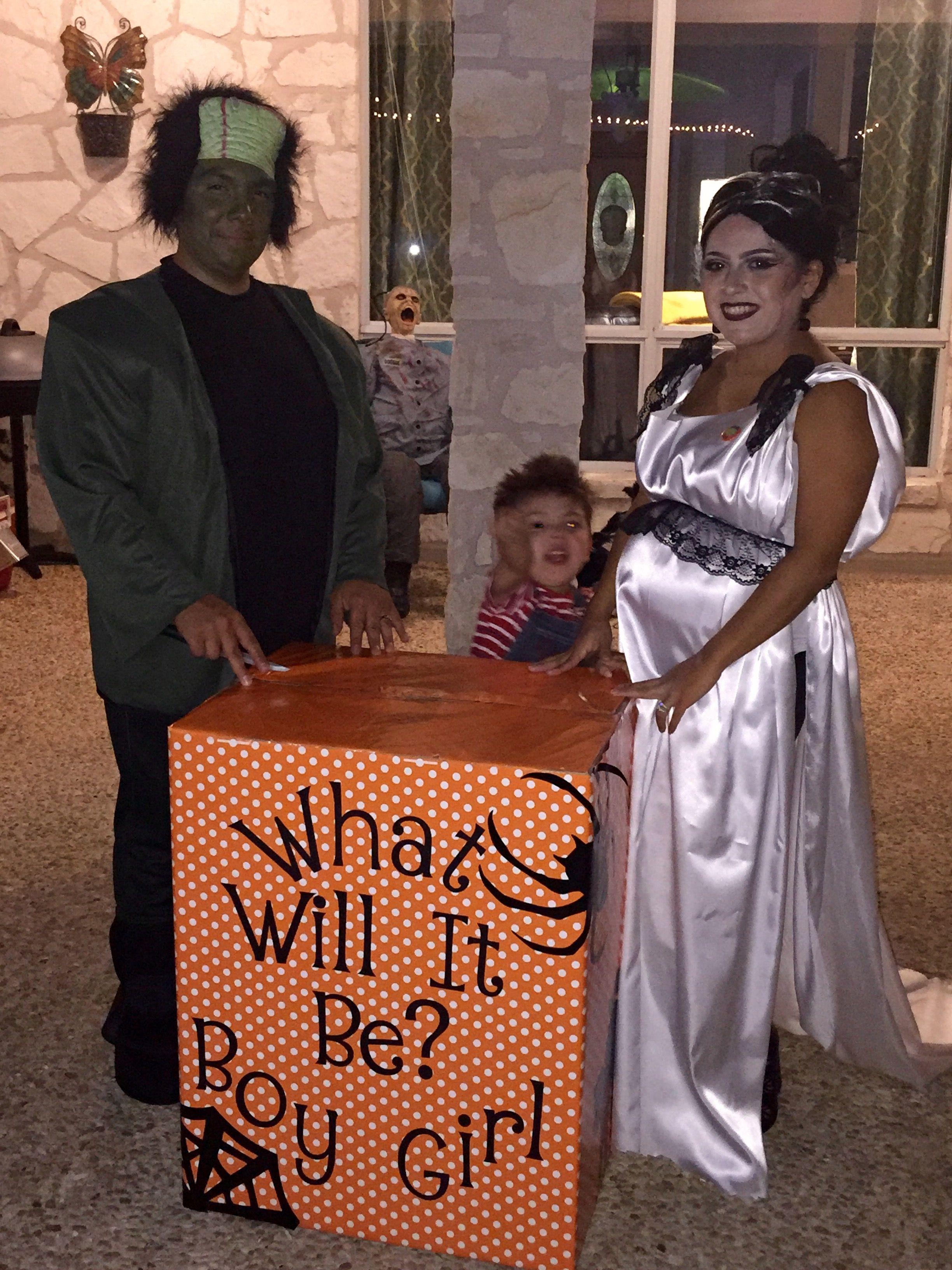 Gender Reveal/Halloween party! Super cute idea! | Baby ideas/Cute ...